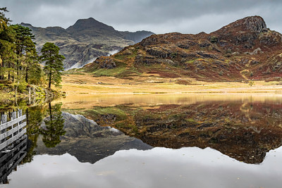 Blea Tarn on a wet October day