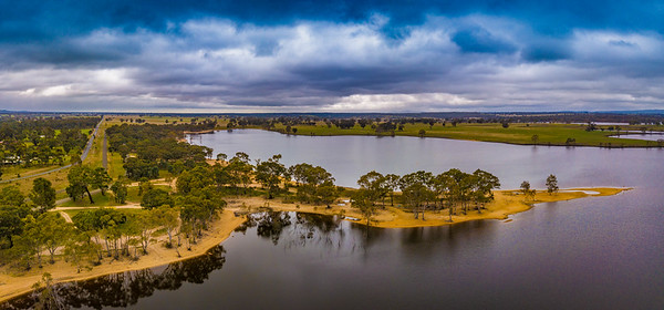Lake Eppalock Aerial Photos