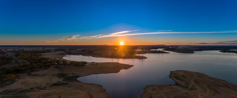 Lake Eppalock Morning Sunrise