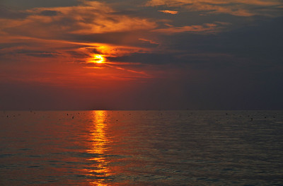View from Marblehead - Lake Erie dawn