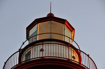 Lighthouse Tower and Railing