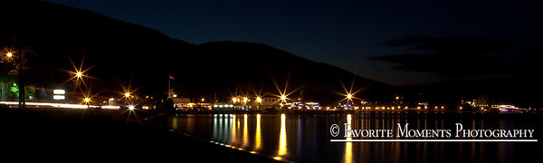 Lake George Village Lights