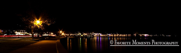 Lake George Village Lights
