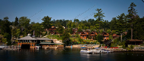 The Lodges at Cresthaven and the Boathouse Restaurant on Lake George