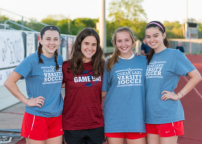 Lake Girls Soccer Senior Night