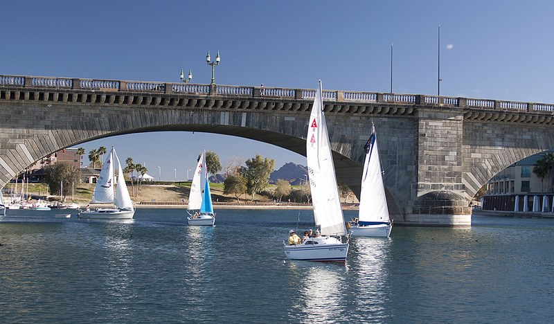 2011 Lake Havasu Pocket Cruiser Convention<br /> Catalina's & London Bridge