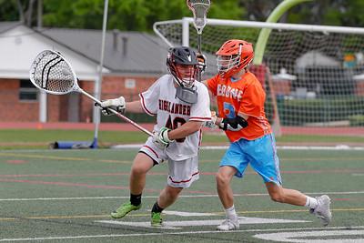 High School Lacrosse: Braves JV Lacrosse Take on Lake Highland Prep