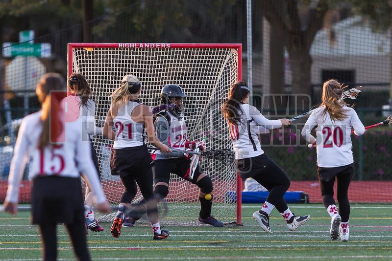 Lake Brantley Patriots @ Lake Higland Prep Higlanders Girls Varsity Lacrosse - 2015 -DCEIMG-6235