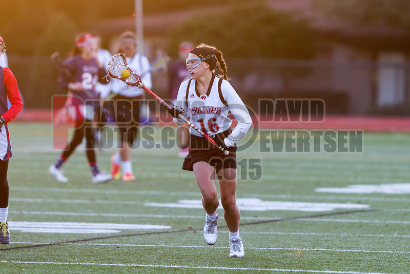 Lake Brantley Patriots @ Lake Higland Prep Higlanders Girls Varsity Lacrosse - 2015 -DCEIMG-6255