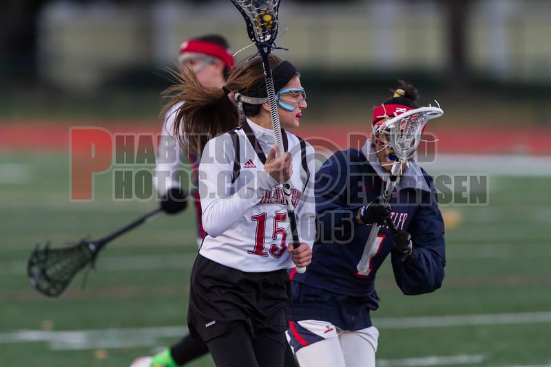 Lake Brantley Patriots @ Lake Higland Prep Higlanders Girls Varsity Lacrosse - 2015 -DCEIMG-6299