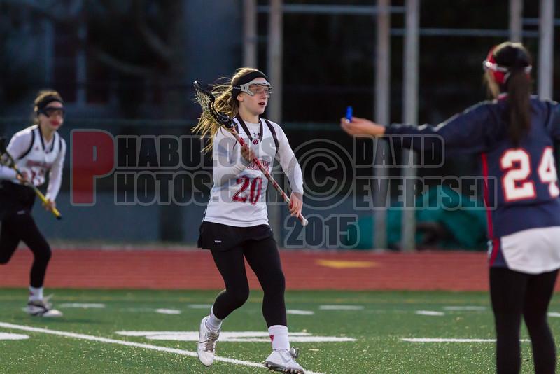 Lake Brantley Patriots @ Lake Higland Prep Higlanders Girls Varsity Lacrosse - 2015 -DCEIMG-6368
