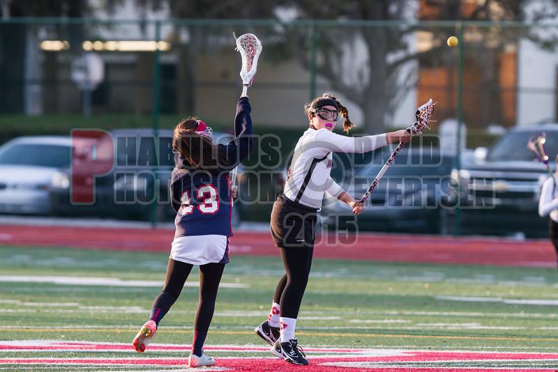 Lake Brantley Patriots @ Lake Higland Prep Higlanders Girls Varsity Lacrosse - 2015 -DCEIMG-6099