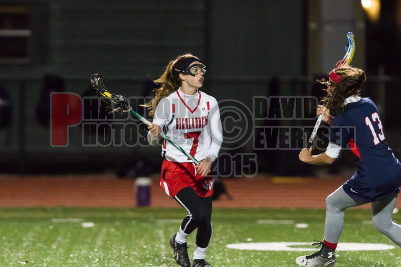Lake Brantley Patriots @ Lake Higland Prep Higlanders Girls Varsity Lacrosse - 2015 -DCEIMG-6490