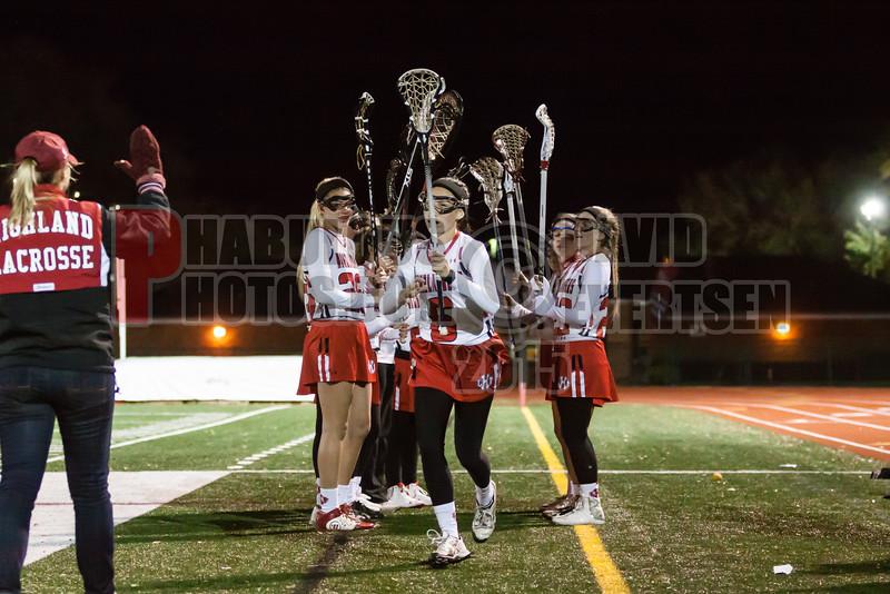Lake Brantley Patriots @ Lake Higland Prep Higlanders Girls Varsity Lacrosse - 2015 -DCEIMG-7247