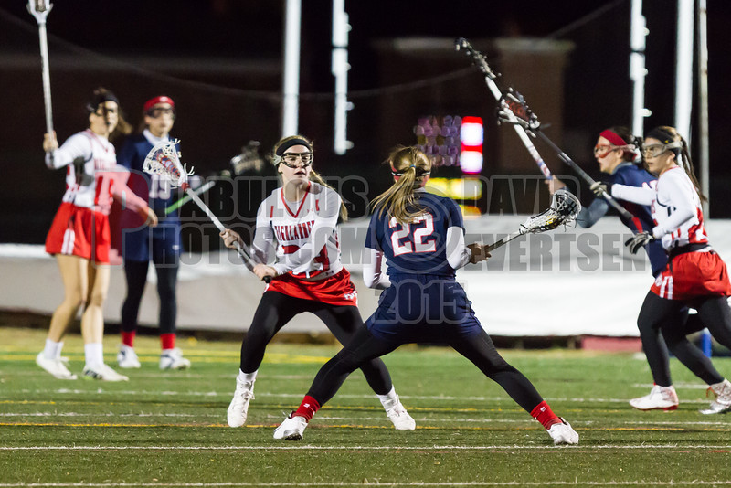 Lake Brantley Patriots @ Lake Higland Prep Higlanders Girls Varsity Lacrosse - 2015 -DCEIMG-6600