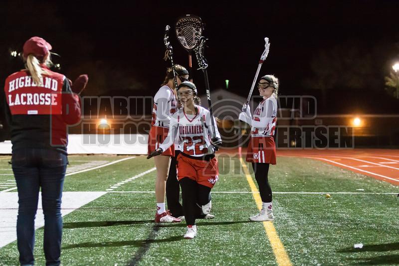 Lake Brantley Patriots @ Lake Higland Prep Higlanders Girls Varsity Lacrosse - 2015 -DCEIMG-7274
