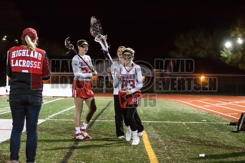 Lake Brantley Patriots @ Lake Higland Prep Higlanders Girls Varsity Lacrosse - 2015 -DCEIMG-7277