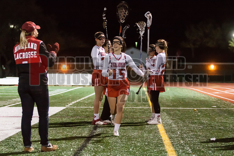 Lake Brantley Patriots @ Lake Higland Prep Higlanders Girls Varsity Lacrosse - 2015 -DCEIMG-7267