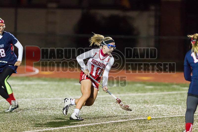 Lake Brantley Patriots @ Lake Higland Prep Higlanders Girls Varsity Lacrosse - 2015 -DCEIMG-7079