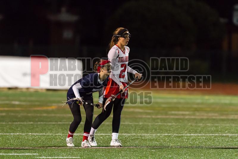 Lake Brantley Patriots @ Lake Higland Prep Higlanders Girls Varsity Lacrosse - 2015 -DCEIMG-6610
