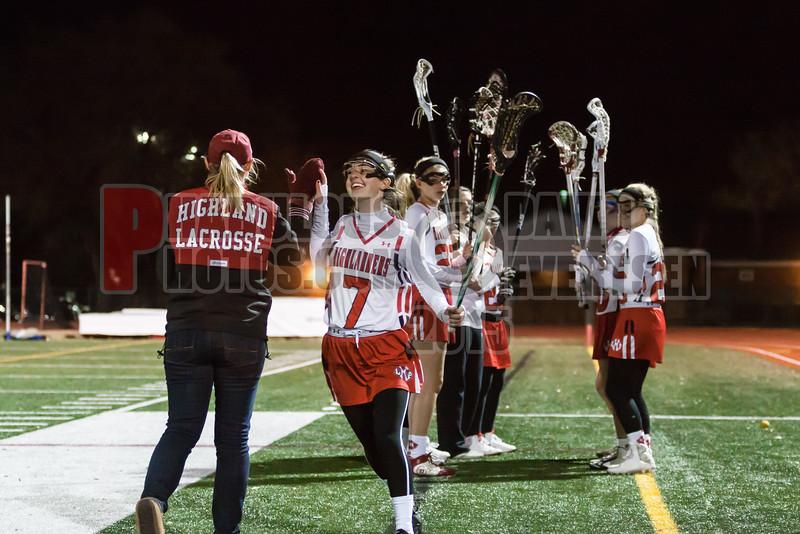 Lake Brantley Patriots @ Lake Higland Prep Higlanders Girls Varsity Lacrosse - 2015 -DCEIMG-7254