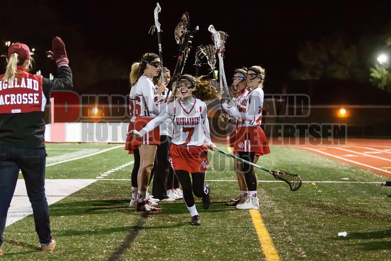 Lake Brantley Patriots @ Lake Higland Prep Higlanders Girls Varsity Lacrosse - 2015 -DCEIMG-7251