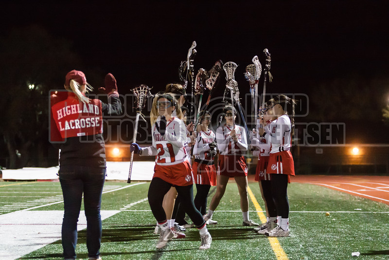 Lake Brantley Patriots @ Lake Higland Prep Higlanders Girls Varsity Lacrosse - 2015 -DCEIMG-7232