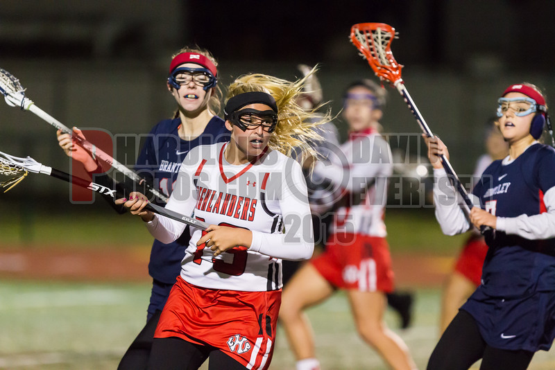 Lake Brantley Patriots @ Lake Higland Prep Higlanders Girls Varsity Lacrosse - 2015 -DCEIMG-7044