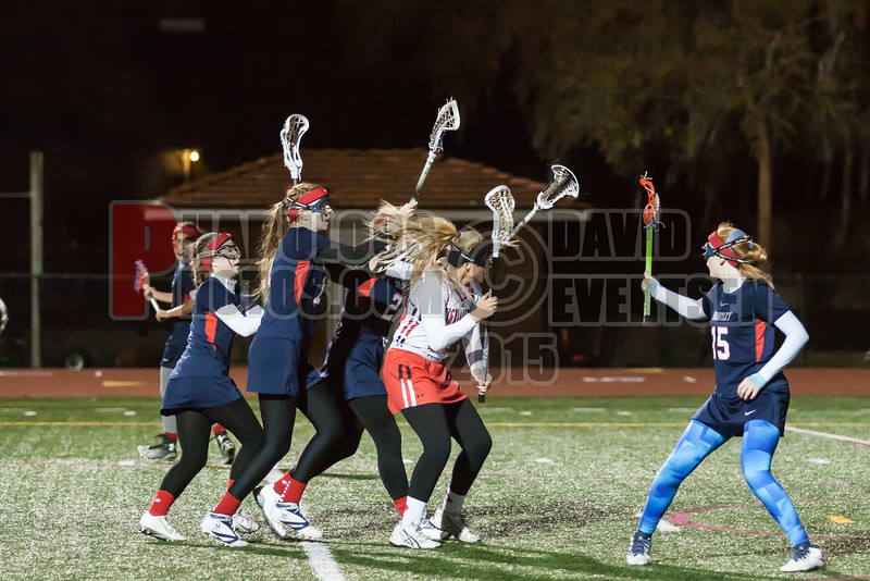 Lake Brantley Patriots @ Lake Higland Prep Higlanders Girls Varsity Lacrosse - 2015 -DCEIMG-7388