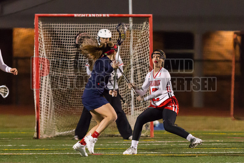 Lake Brantley Patriots @ Lake Higland Prep Higlanders Girls Varsity Lacrosse - 2015 -DCEIMG-6659