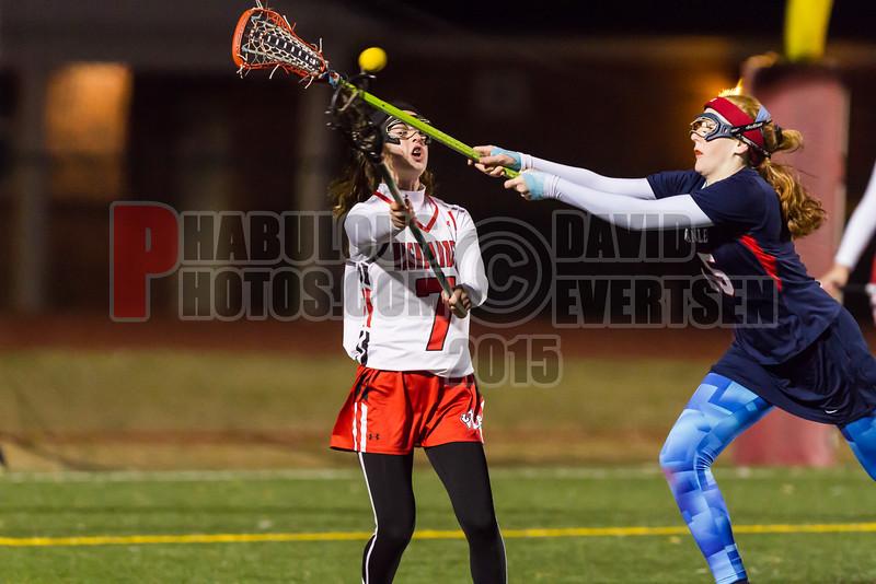 Lake Brantley Patriots @ Lake Higland Prep Higlanders Girls Varsity Lacrosse - 2015 -DCEIMG-6965