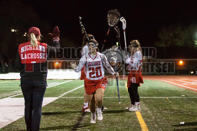 Lake Brantley Patriots @ Lake Higland Prep Higlanders Girls Varsity Lacrosse - 2015 -DCEIMG-7271