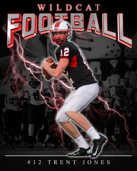 Wildcat football-2012 T_Jones_12