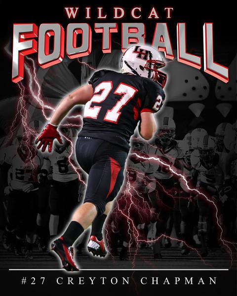Wildcat football-2012 Chapman_27
