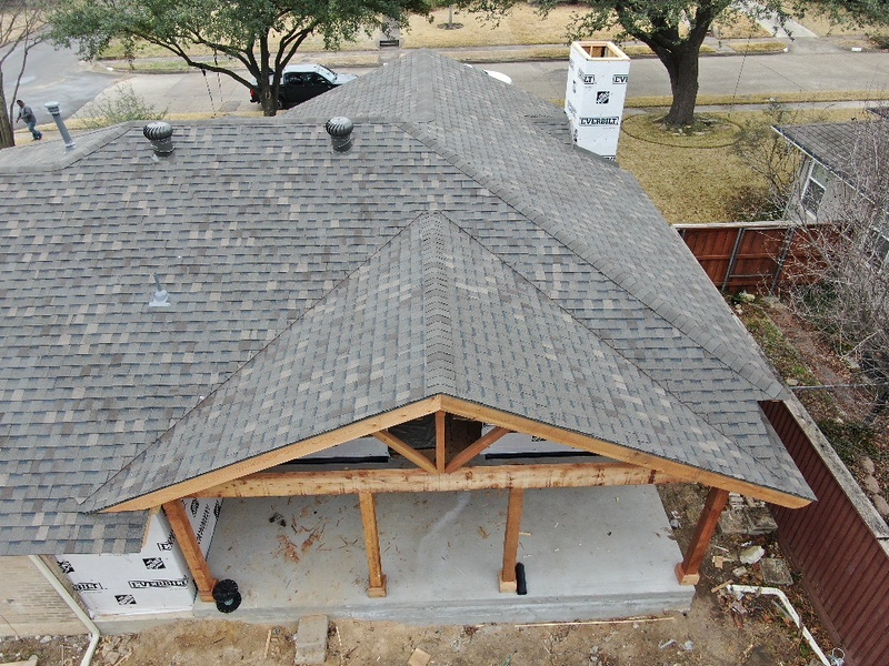 Lake Highlands Weatherwood with Patio Cover