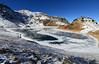 San Miguel Peak above Lake Hope