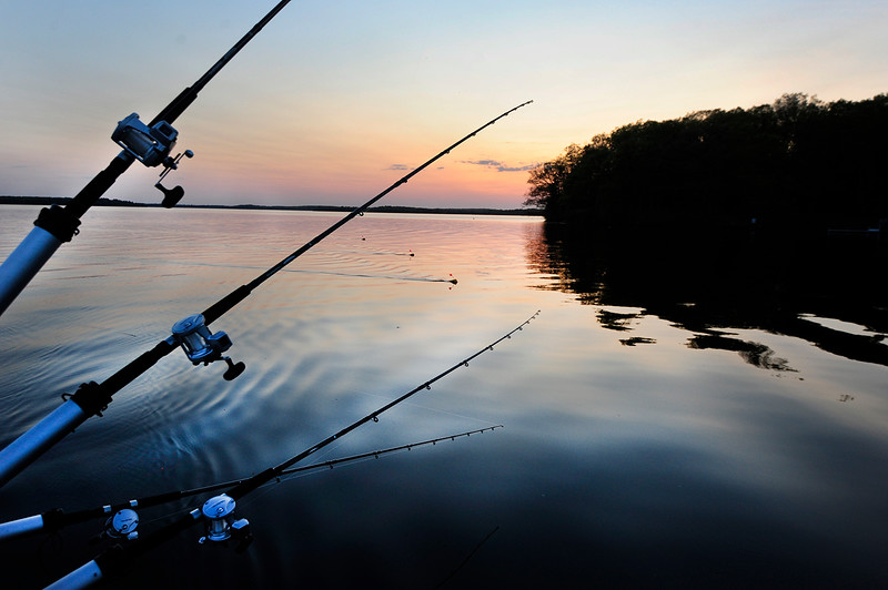 Sunset Fishing on Lac Courte Oreilles