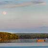 Moonrise over Lac Courte Oreilles