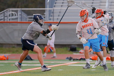 High School Lacrosse: Braves JV Lacrosse Host Lake Howell.