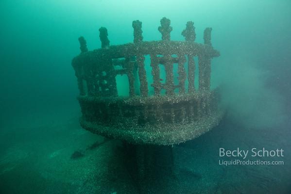 Pewabic stern no divers