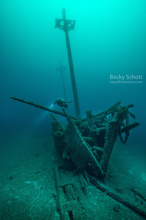 Diver on the Kyle Spangler