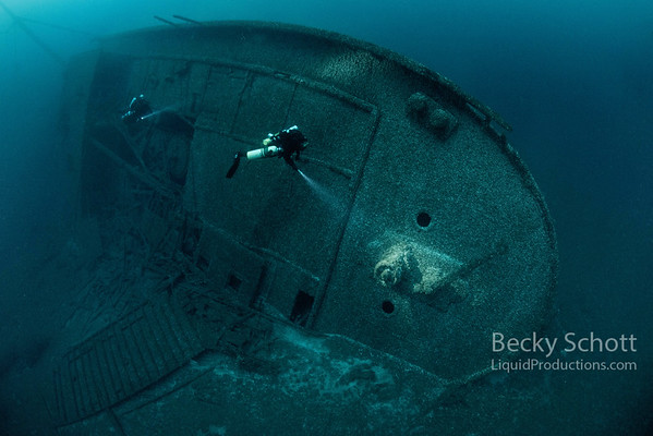 Stern of the Norman Shipwreck