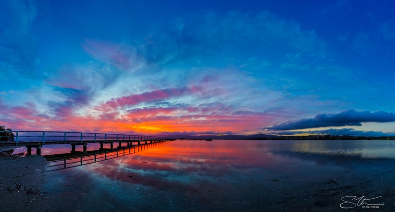 Sunset Panoramic....