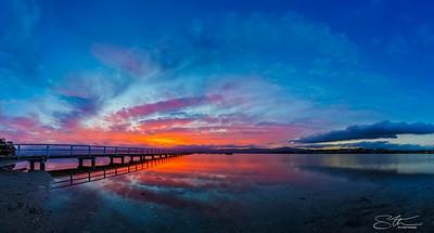 Sunset Panoramic....