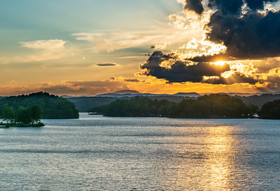 Lake Keowee Sunset (3)