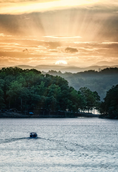 Lake Keowee Sunset (4)