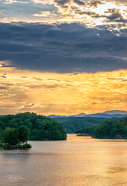 Lake Keowee Sunset @ Gap Hill  (8)
