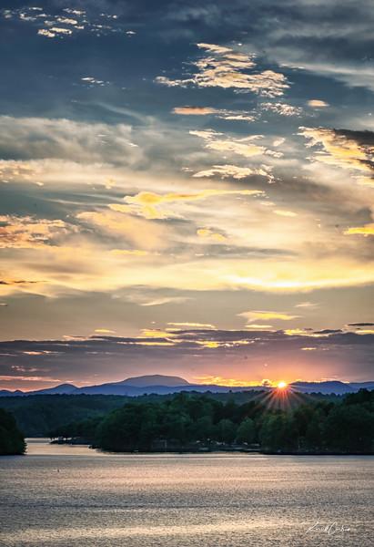 Lake Keowee Sunset @ Gap Hill (1)