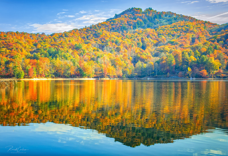 Lake Keowee Fall Reflections