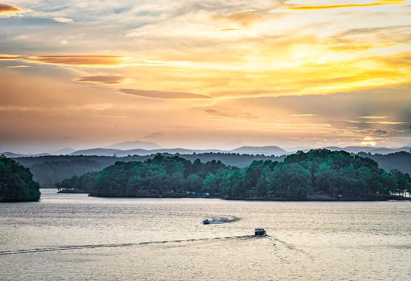 Lake Keowee Sunset @ Gap Hill (2)